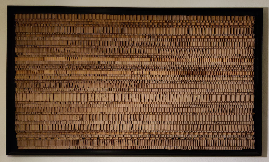 Zonder Titel| karton, hout, acrylverf